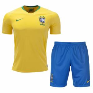 58ce880d41cc3 Futbalový dres Brazília – set – domáci – MS 2018