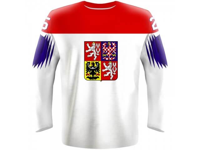 0bf995061 Hokejový dres Česko - biely 2019 - Fanworld.sk