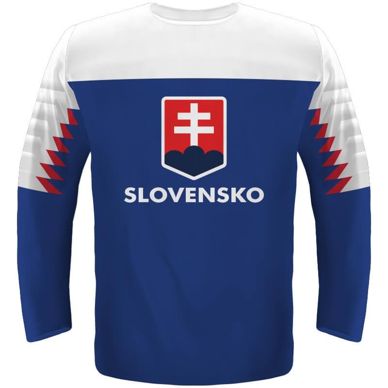 Hokejový dres Slovensko - modrý 2019 - Fanworld.sk